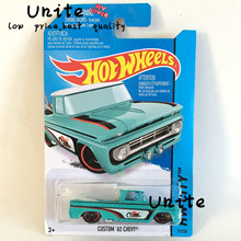 Free Shipping Mini Car Models Metal Diecast Hot Wheels Custom 62 Chevy Car Model Collection Kids Toys Vehicle Juguetes