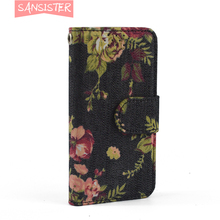 sansister fashion cowboy style flip wallet case for oppo r9s plus cell phone 5.5 inch to protect its body security for long time(China)