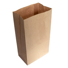 Great Bags 10Pcs Oil Proof Kraft Paper Gift Bags Vintage Party Supplies Brown Paper Bags