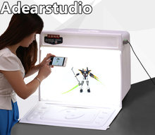 Portable Photographic Equipments Light Tent 60CM studio LED large box camera equipment soft small shooting table lamp no00dc(China)