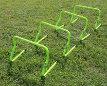 New Adjustable agility hurdles 4pcs/set Speed Hurdles Trainer Sports Adjustable Training Hurdles Exercise Equipment