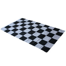 90x150cm 3X5 FT NASCAR BW Black White CHECKERED CHECKER RACING BANNER FLAG