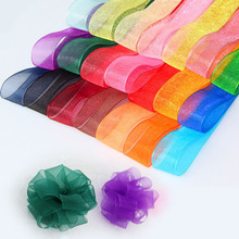 Buy 50 Yard Organza Ribbon Silk Tulle Wedding Party Decoration Bow Invitation Card Gift Wrapping DIY Crafts Scrapbooking Supplies for $1.78 in AliExpress store