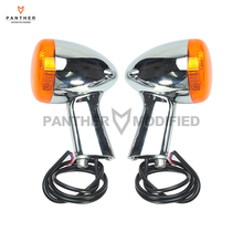 Motorcycle Rear Turn Signal LED Indicator Lights Moto Taillight case for Harley XL 883 1200 Sportster 1992-2016