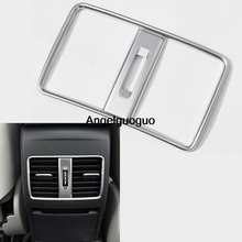 Angelguoguo Car Rear Air Condition outlet Vent Cover for Mercedes Benz A class W176 B class W246 GLA CLA Class(China)