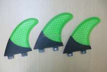 Best selling Green honey comb FCS surfboard fin FCS carbon fiber surf board fin
