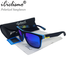 iCiclismo Name Brand Sunglasses Men Polarized Sun Glasses Women UV400 Oculos de sol Masculino(China)