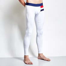mens fashion leggings long johns thermal underwear Cotton Men Thermal Long Johns breathable patchwork cueca masculina plus size