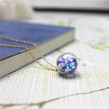 2017 new fashion brand jewelry metal pendant necklace for women cute star simple chain necklace free shipping