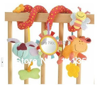 hot baby toy bed animals around lathe bed hang Safety mirrors BB device ring paper teeth glue