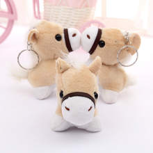 1 Pcs Lovely Little Donkey Plush Toys Cute Mini Pendant Soft Stuffed Animals Doll Baby Toy Kids Toy Birthday Gifts Bag Accessory