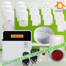 App Controlled Wireless Flash Siren GSM Autodial Home Fire Alarm System