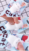 For Huawei P10 Plus Lite Case Squishy Finger Pinch 3D Cute Cat Seal Silicone Phone Cover Shell Coque For Huawei Nova 2 Plus