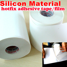 All Sizes Hot fix paper & tape Silicon adhesive iron on heat transfer film super HotFix rhinestone DIY tool Y2855