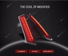 Car-styling LED Modified Auto Tail Rear Lamp Column Light for X-TRAIL XTRAL Brake+ Driving Light
