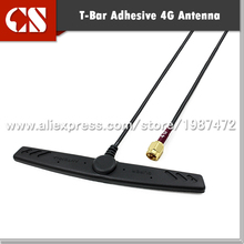 Free shipping High Gain Outdoor MIMO 4G Lte Antenna IP67 waterproof T Bar shape with 3m cable,SMA Male(inner pin)