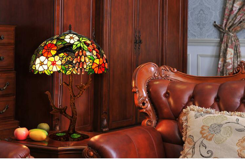 Double bird table lamp (7)-1