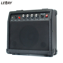 LEORY Outdoor Electric Guitar Speaker Amplifier Micro Speaker 20W With Portable Handle For Guitar Learners AC 220-240V