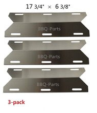 BBQ Parts 91231(3-pack) Porcelain Steel Heat Shield Replacement for Costco Kirland, Glen Canyon, Jenn-air, Nexgrill, Sterling(China)