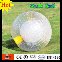 PVC/TPU Land body Zorb Ball Inflatable Human Sized like snow zorbing globe riding human hamster ball dia 3m 1.0mm PVC(China)