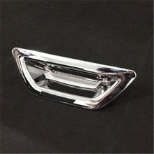 ABS Chrome rear Door handle Cover For Nissan XTRAIL X-Trail 2014 2015 back door bowl Auto Part Car Accessory