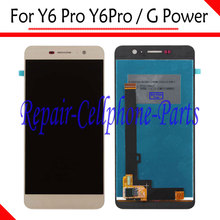 Gold 100% New Full LCD DIsplay + Touch Screen Digitizer Assembly Replacement For Huawei Y6 Pro Y6Pro / G Power Free Shipping(China)