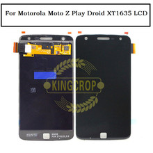For Motorola Moto Z Play LCD Display Touch Screen Digitizer Assembly For Motorola Droid XT1635 lcd Replacement Parts+ tools(China)