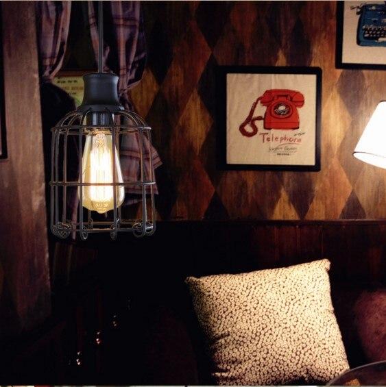 RH Style Loft Pendant Lights For Dinning Room Vintage Industrial Lighting Luminaria Pendente De Teto<br>