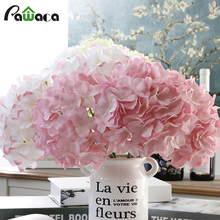 Artificial Hydrangea Simulation Flower Home Party Wedding Decorative Flowers Wreaths Bridal Bouquets European Silk Flower