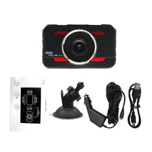 New 3inch Full High-definition 1080P Car DVR Video Camera Recorder Dashboard Tachograph G-sensor Automatic Loop-cycle Recording(China)