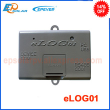 eLOG01 the function record and down datas matched with solar controller mainly for photovoltaic cells batteries equipment(China)