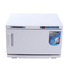 USA Local Shipping! Hot Towel Warmer UV Sterilizer 2 in1 Cabinet Spa Facial Massage Beauty Salo(China)