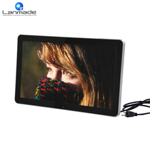 21 inch 1080P wall mount lcd display indoor digital signage lcd tv china mp4 video player(China)