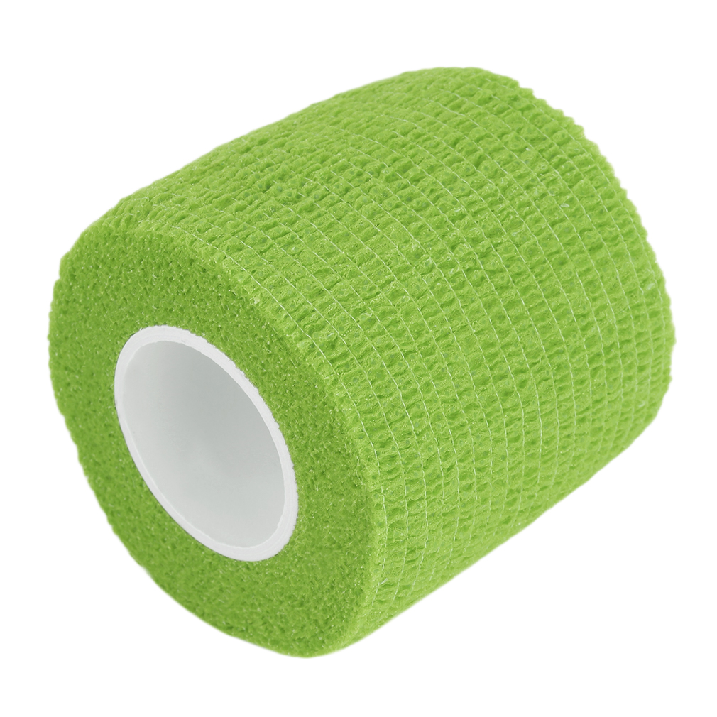 5cm*4.5m Non Woven Fabric Self-Adhering Bandage Wraps Elastic Adhesive First Aid Tape Stretch Elbow /& Knee Pads