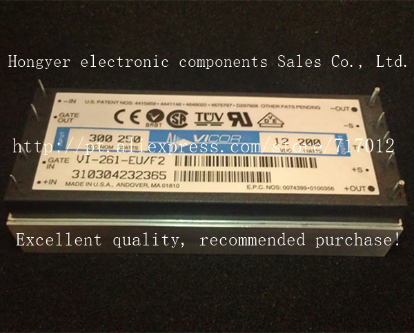 Free Shipping VI-261-EU/F2  DC/DC: 300V-12V-200W power supply voltage reduction module,Can directly buy or contact the seller<br><br>Aliexpress