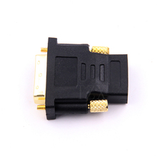 1pcs Hot Sell DVI 24+1 to HDMI Convert Gold Plated Male to Female 1080P HDTV Adapter Converter adpater for PC Laptop