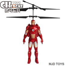 Best Seller Induction Fly Toys Very Cool Iron Man Remote Control RC Helicopter Flying Quadcopter Drone Kids Toys Gifts Wholesale