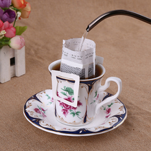 50 Pieces Hanging Ear Coffee Filter Bag Filter Net Filter Drip Type Coffee Tools Accessories