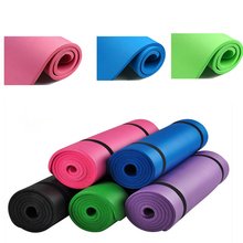 Colourful Yoga Mat For-fitness Non Slip  For Man Girl Gym Sport Dance Losing Weight Folding Pad Mats 10MM 5 Colour