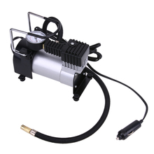 Buy DC 12V Electric Car Inflatable Pumping Air Pumps Compressor 100 PSI Auto Cigarette Lighter Plug Metal Shell Durable Use for $31.76 in AliExpress store