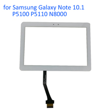 ALANGDUO for Samsung Galaxy Note 10.1 P5100 P5110 N8000 Touch Screen Digitizer Panel Front Touchscreen Replacement Glass Tablet