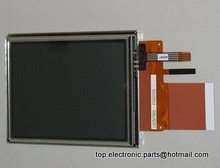 original 3.5'' LQ035Q7DB05R for handheld device LCD screen display panel with touch screen digitizer lens