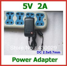2pcs 5V 2A 2.5mm Power Adapter Charger EU US for Tablet Pipo M5(3G) S1 S2 S3 U1 U1pro U2 U3 Cube I10