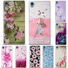 Case for Sony Xperia Z3 Cover D6603 D6643 D6653 D6616 L55T 3D Skin Painting Phone Back Protector Cover for Sony Z3 Case Silicon