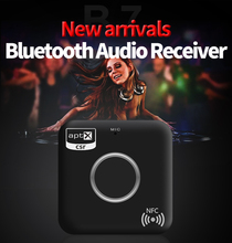 Apt-x NFC Receiver Audio Bluetooth Receiver Sound System Receptor Bluetooth 4.1 Audio Adapeter Bluetooth Music Receiver B7
