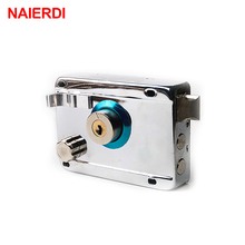 NAIERDI-9331 Exterior Door Locks Security Anti-theft Lock Multiple Insurance Lock Iron Gate Door Lock For Furniture Hardware
