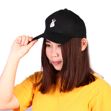 Fashion Kpop Baseball Cap Finger Heart Embroidery Snapback Cap Lovely Sun Hats For Women Men Black Pink Gorra Bone Casquette