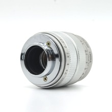Fujian CCTV 35mm f1.7 Lens C Mount for Olympus PEN E-P6 / E-PL7 / E-PL6 / E-PL5 / E-PM3 / E-PM2 silver free shipping(China)