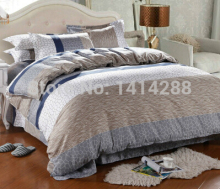 Home Textile,Reactive Print 4Pcs Bedding Sets Luxury Include Quilt Cover Bed Sheet Pillowcase King Queen Full Size