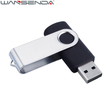 New Metal Swivel USB Flash Drive Pen Drive 4gb 8gb 16gb 32gb 64gb External Storage Pendrive USB Stick Customized Gift